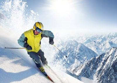 Skiing & Investing