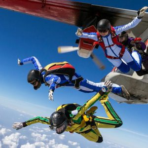 Skydiving & Investing