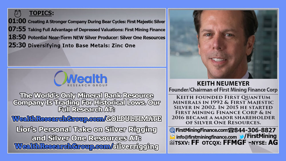Keith Neumeyer: Full Overview of Companies