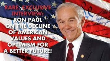 RON PAUL EXCLUSIVE: Deep State & Banking System Taking Economy DOWN!