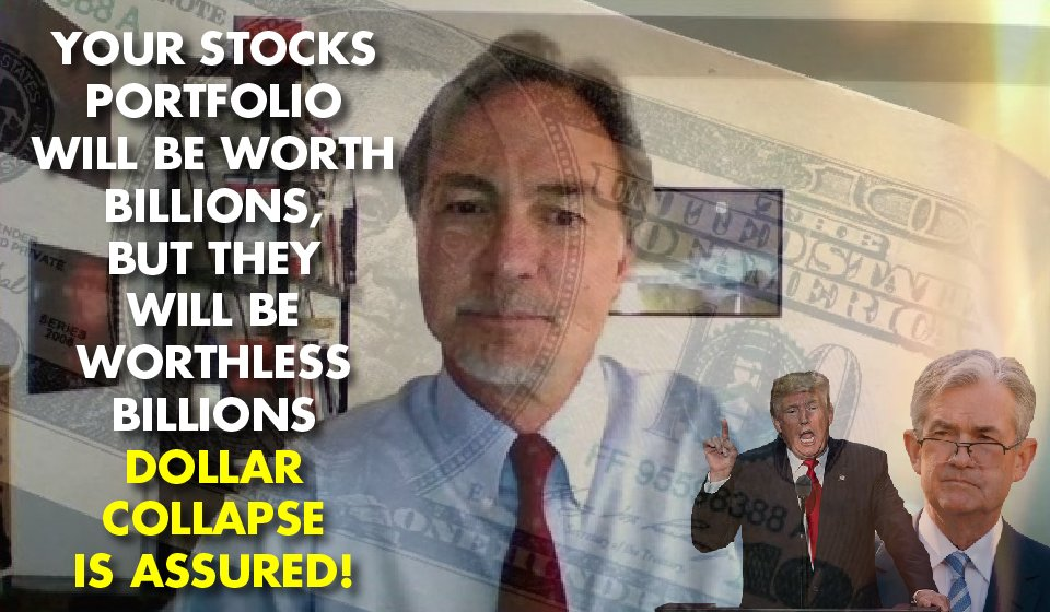 THE GOVERNMENT IS TERRIFIED: John Rubino Breaks Down the Seismic Implications of QE4