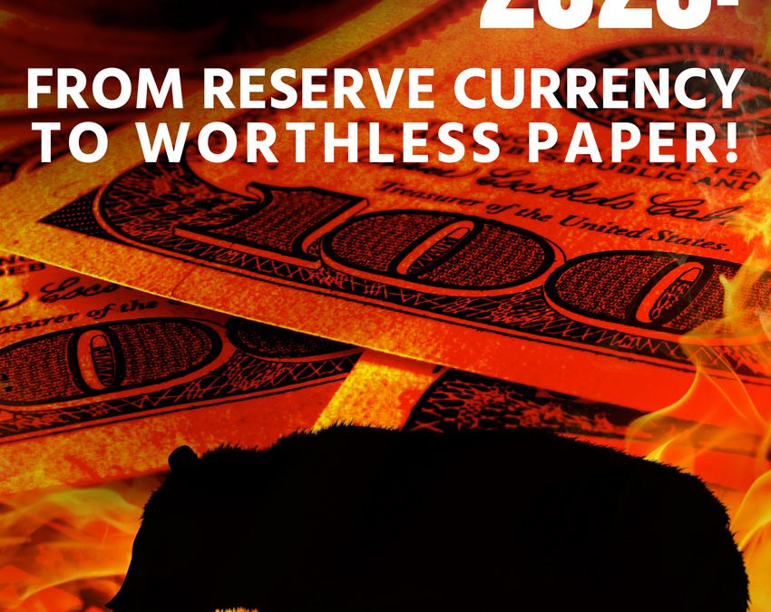 Dollar Bear Market 2020: From Reserve Currency To Worthless Paper